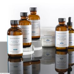 Skinceuticals® Facial Peels include Gylcolic and Salicylic Acid Peels to help freshen and tone the skin. The professional peel system can be refined for all skin types.