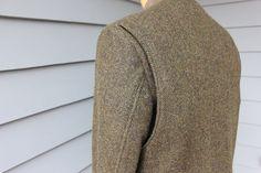 vintage 1960's ORVIS Men's Shooting jacket. Modified by StyleStash