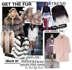 Winter trend - statement fur