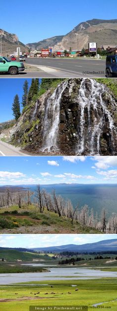 Cody to West Gate. Road Trip 2014 - Yellowstone or bust.