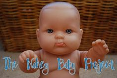 """""""Nakey Baby Project"""" Free doll clothes petterns and tutorials"""