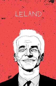 "twin peaks. Ray Wise as ""Leland."""