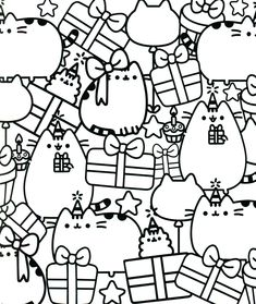 11 Best pusheen coloring pages
