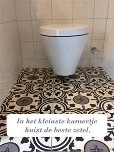 In het kleinste kamertje huist de beste zetel. #spreuk #gezegde