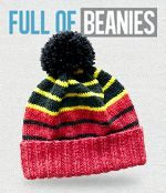 Free Knitting Patterns - hats and more - from Australian Country Spinners
