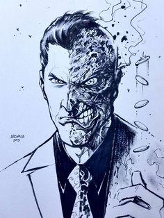 Two Face by Wayne Nichols