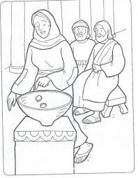 Image Result For Widow Giving All She Had Coloring Page Bible