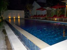 Hotel pool in Seminyak, Indonesia. For tips on how to choose the right hotel for you, click here: http://travel-made-simple.com/how-to-choose-the-right-hotel-for-you/