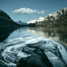 Frozen lake by mariuskasteckas via http://ift.tt/2lNI7Xf