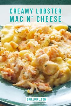 Because Lobster Mac N' Cheese is the ultimate comfort food. In this recipe guide I show you step by step how I prepare and make this amazing dish. Lobster Mac N Cheese Recipe, Seafood Mac And Cheese, Macaroni Cheese Recipes, Lobster Recipes, Fish Recipes, Seafood Recipes, Egg Recipes, Lobster Dishes