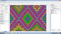 How to use easybead for designing Mochila patterns. Diy Crochet Patterns, Crochet Projects, Tapestry Crochet, Vintage Dolls, Cute Crochet, Cross Stitch Embroidery, Free Pattern, Needlework, Mosaic