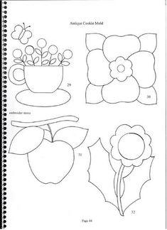 Aplicaciones para patchwork y quilt - Isabel Perez Valiente - Álbuns da web do Picasa