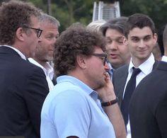 Roman Abramovich + son Arkady Abramovich Garage