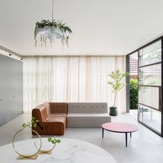 We spy our Quadrant Soft Sofa in 'House Au Yeung' a beautiful postwar bungalow extension by @tribestudio_ featured on @dezeen  This exact colour combination of our Quadrant Soft Sofa is currently available in the Koskela Rosebery store which means you can take it home instantly with no need to wait. For details contact us below:  k o s k e l a info@koskela.com.au | 02 9280 0999 1/85 Dunning Ave Rosebery www.koskela.com.au  Photography by Katherine Lu. Beautiful styling by @megan_morton…