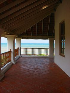 Bungalow on the Beach, Tranquebar, Tamil Nadu