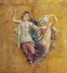 Fresco from the House of Julia Felix preserved at the @MANNapoli, #Pompeii