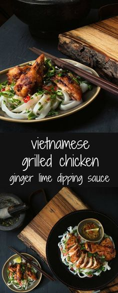 Citrus flavours pair beautifully with ginger, green chili, and garlic in this salty sweet Vietnamese grilled chicken.