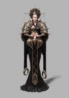 ArtStation - magician C, ju hee yoon Female Character Concept, Game Character Design, Character Art, Fantasy Rpg, Medieval Fantasy, Fantasy Characters, Female Characters, Rpg Pathfinder, Darkest Dungeon