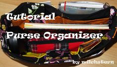 Purse Organizer – Tutorial – Made by milchstern