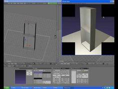Blender-modeling interior tutorial 2(furniture)
