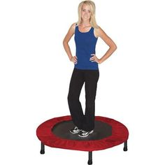 Skywalker Trampolines Folding Portable Exercise Trampoline with Carry Case at Walmart