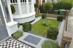 Beautiful Victorian Front Garden Design with Home Interior Design Ideas