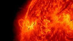 Solar Storm is a large sphere fire. The fire is nothing it simply a mix of gases like hydrogen and helium. it has 92.1 % of hydrogen while 7.8 % of helium as well as it emits a huge burst of fuel composed of magnetic home.