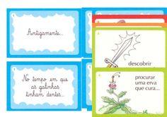 cartões para inventar histórias