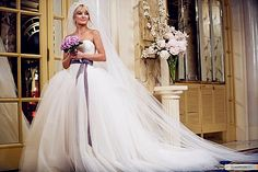 You do not alter Vera Wang to fit your body, you alter your body to fit Vera Wang!   The bigger the better to me! Southern Girl!