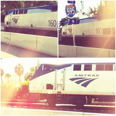 Our Amtrak trains are quite the sight! Thank you to Instagram user @victorlilue for sharing these shots with us.