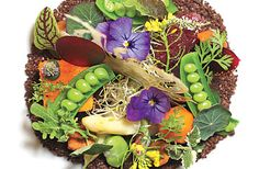 """Forget foam. A new crop of innovative chefs is serving up edible """"dirt"""""""