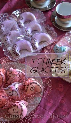 tcharek glacage royal gateau algérien