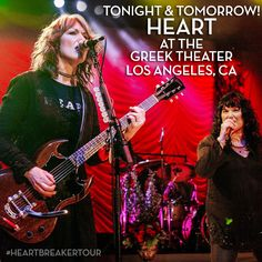 Heart at The Greek Theater in Los Angeles, CA