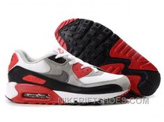 hot sale online 862e9 c0b75 Nike Air Max 90 Womens Black Red Grey White Discount PMzKy, Price   74.00 -  Nike Rift Shoes