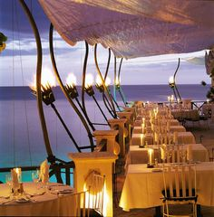 Had an amazing dinner at this restaurant and the view was phenomenal - The Cliff - St. James, Barbados