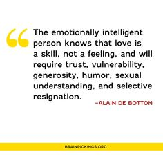 Alain de Botton on Existential Maturity and What Emotional Intelligence Reall. Meaning Of Life, Emotional Intelligence, What Is Intelligence, Feeling Overwhelmed, Book Of Life, What Is Life About, Knowledge, Instagram, Wisdom