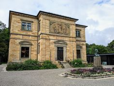 Richard Wagner, Rosalie, Ludwig, Mansions, House Styles, Bayreuth, Peace, Manor Houses, Villas