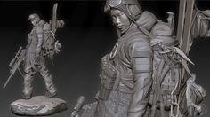 Joseph Drust - Digital Sculpture Thread