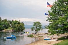 "CountryLiving's ""The 25 Best Small Lake Towns in America"" article names Vergennes! Pictured here: Basin Harbor Club (one of IPJ's favorites! The Places Youll Go, Places To See, Lake Champlain Vermont, Small Lake Houses, Lake Resort, Family Road Trips, Lake City, State Parks, Lakes"