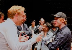 Rupert Grint went to see the Harry Potter and the Cursed Child play. (10 August 2016)