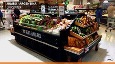 Convenience Island at Jumbo Unicenter, Argentina. #IMS #Argentina #Unicenter #foodtogo #comidaparallevar #island #food #comida #diseño #design #jumbo