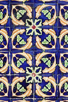Tile pattern Grândola, Portugal
