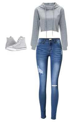 """""""Untitled #1"""" by sahrreadavid ❤ liked on Polyvore featuring Converse"""