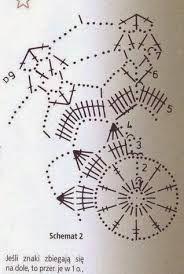 Risultati immagini per bombka szydełkowa wzór
