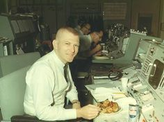 The Man. Flight Director Gene Kranz.