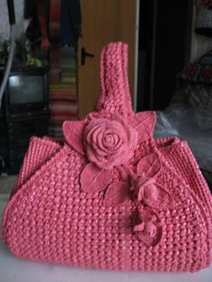 Bags are include in fashion accessory. There are various types of bags. Bags are include in fashion accessory. There are various types of bags. handmade bags, leather bags, crochet b Mode Crochet, Crochet Shell Stitch, Crochet Handbags, Crochet Purses, Knit Or Crochet, Crochet Crafts, Crochet Stitches, Crochet Projects, Crochet Tote