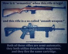 Assault Weapons...  Really...