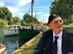 One of the last surviving veterans who came out of Dunkirk on a Little Ship.