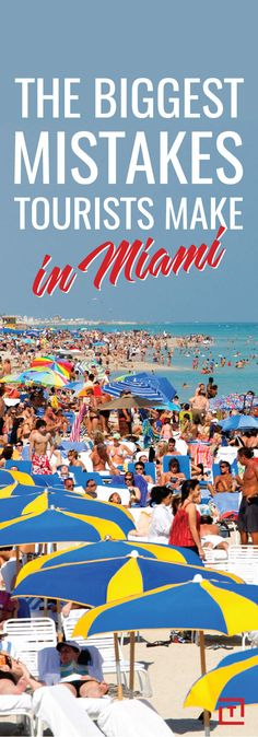 Visit Miami: How to Avoid the Scams & Tourist Mistakes - Thrillist