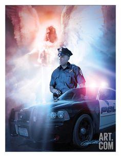 Police Artwork - Got Your Back - Police Print by Danny Hahlbohm at Art.com